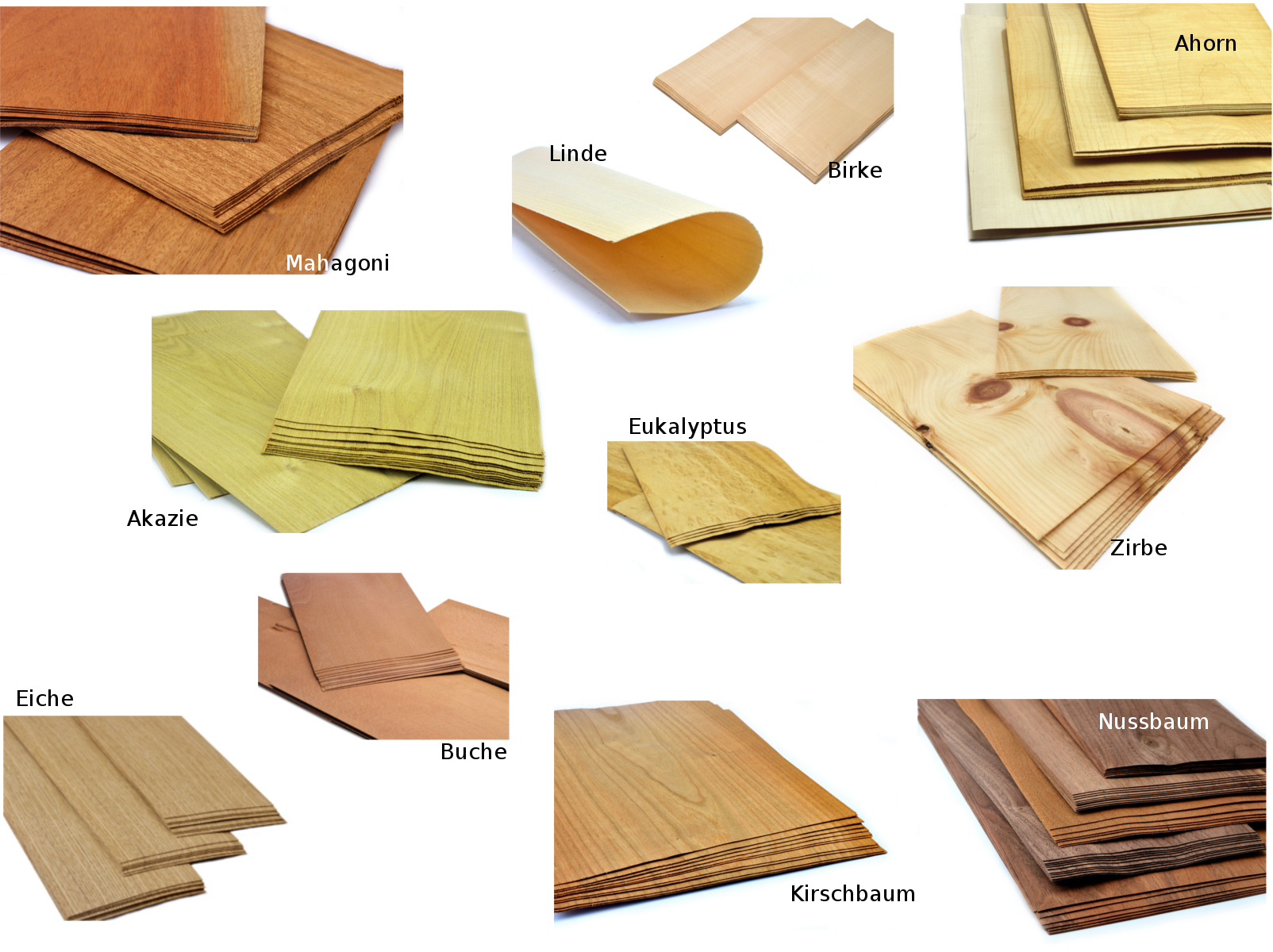 Basteln Modellbau Restaurierung Holz Diy Holz & Holzwerkstoffe Furnier Set Ahorn Eiche Nussbaum Buche Restaurierungsbedarf